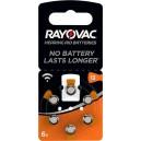 Baterija za slušne aparate 1,4V 7,8x5,35mm - RAY-13