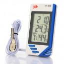 Termometar (unutrašnja i spoljašnja temperatura) / Vlagomer (senzor na spoljašnjoj sondi) - INS-TVS-908