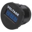 AE-A25-1-BB3-U - Voltmetar za Auto 6-33V Plava LED