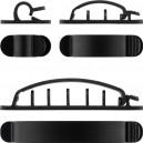 KAB-ORG6CN - Organizator kablova - Set od 6 delova Crni