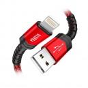 KAB-USB20AL-1PRP - Kabl USB2.0 A Muški – Lightning – Apple 1 met. Pleten