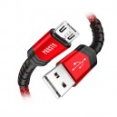 KAB-USB20AU-2PRP - Kabl USB2.0 A Muški – USB B Mikro 1 met. Pleten