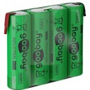 NIMH-R6-421-GO - NIMh Baterija 4,8V 2100A sa lemnim ušicama