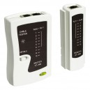UTP/STP-RJ45/RJ11 kabl tester INS-XT-468