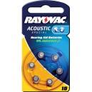 Baterija za slušne aparate 1,4V 5,8x3,5mm - RAY-10