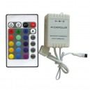 LED kontroler 3x 2A – 12V sa IC daljinskim - LTR-KON24-RGB