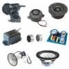 Zvučnici, Slušalice, Mikrofoni, Piezo elementi, Ultra zvučni primo predajni elementi, Pribor za zvučne kutije